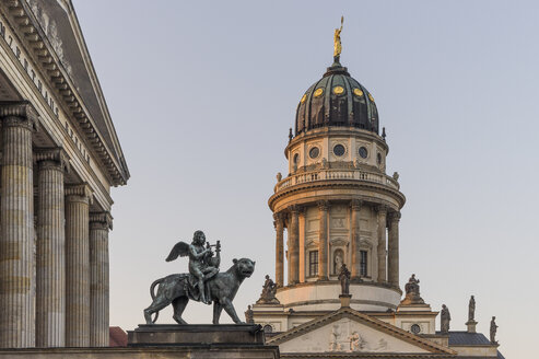 Germany,  Berlin, Franzoesischer Dom at Gendarmenmarkt - PVC000515