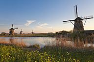 Netherlands, Kinderdijk, Kinderdijk wind mills - MEMF000895