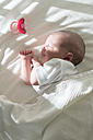 Sleeping baby girl - DEGF000478