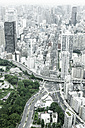 Japan, Tokyo, cityscape with mainroads - FL001164