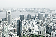 Japan, Tokyo, view to the city - FLF001167