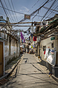 China, Shanghai, street scene in an old quarter of shanghai - NKF000339