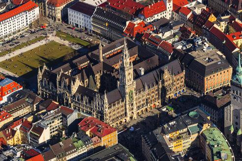 Germany, Bavaria, Munich, Old Townhall and Marienplatz - PEDF000160