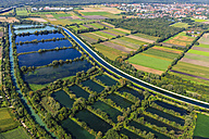 Germany, Ismaning, Isat storage lake and fish ponds - PEDF000133