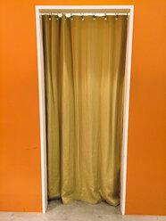 Japan, curtain in door - FL001173