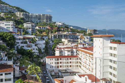 Mexico, Puerto Vallarta, city view - ABAF001874