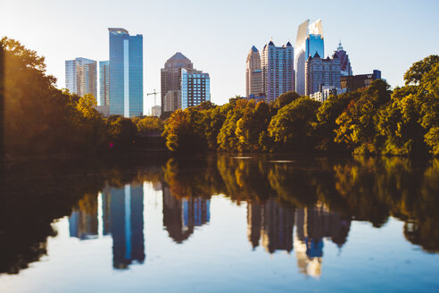 USA, Georgia, Atlanta, Piedmont Park, Tilt-Shifted - GIOF000079