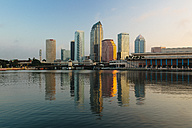 USA, Florida, Tampa, Downtown in the evening - GIOF000083