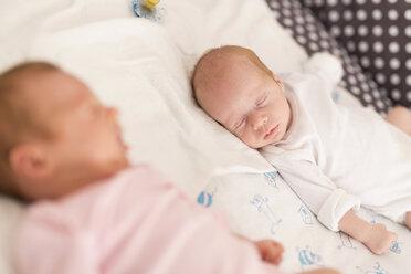 Sleeping newborn twins - SHKF000342