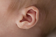 Ear of a newborn baby boy - SHKF000344