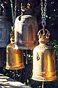 Thailand, Bangkok, bells in a Buddhist temple - EHF000160