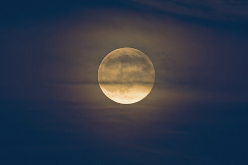 Germany, rise of full moon - UMF000784