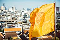 Thailand, Bangkok, View from Wat Saket temple - EHF000168