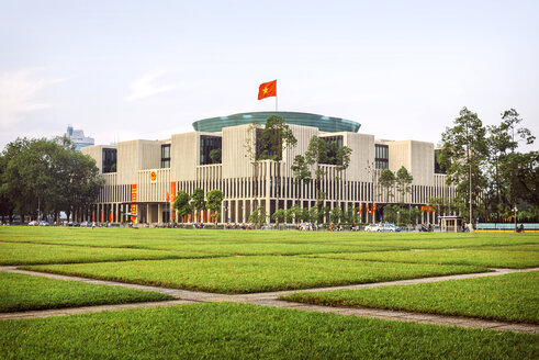 Vietnam, Ho Chi Minh Mausoleum Square in Hanoi - EHF000190