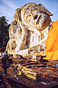 Thailand, Ayutthaya, Reclining Buddha of Wat Lokaya Sutha - EHF000193
