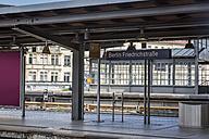 Germany, Berlin, Friedrichstrasse Train station - NK000365