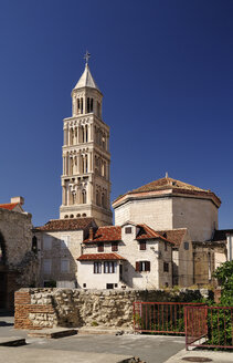 Croatia, Split, Cathedral of Saint Domnius, Campanile - BTF000365