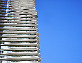 USA, Illinois, Chicago, Aqua Tower, High-rise residential building - DIS002146
