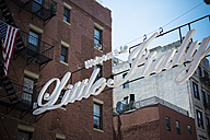 USA, New York City, Entrance to Little Italy district - ONF000900