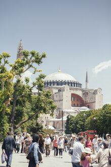 Turkey, Istanbul, Sultanahmet, view to Hagia Sofia - BZ000236