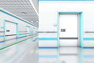 3D rendered illustration, modern hospital - SPCF000064