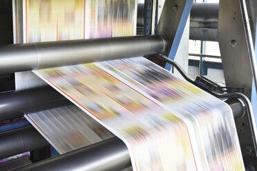Printing machine in a printing shop - LYF000461