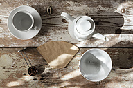 Accessories for preparing filter coffee - EVGF002170