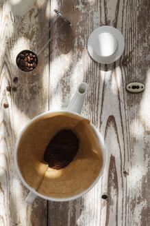 Preparing filter coffee - EVGF002166
