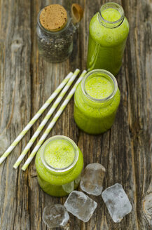 Three glasses of green smoothies - ODF001277