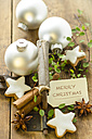 Christmas decoration with cinnamon stars - ODF001301