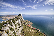 Gibraltar, View from rock to Mediterranean Sea - ABOF000038