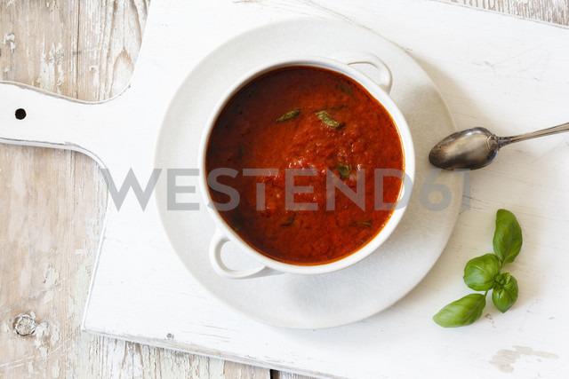 Tomato sauce in bowl - EVGF002211