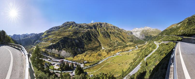 Switzerland, Valais, Rhone glacier and Furka pass - STSF000906