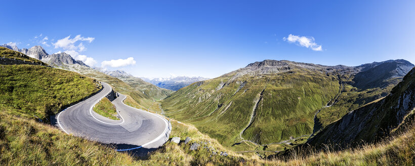 Switzerland, Valais, Furka pass - STSF000912