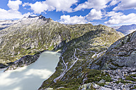 Switzerland, Bernese Oberland, view to Grimsel Pass and Lake Grimsel - STSF000917