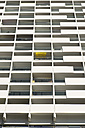 Germany, Duesseldorf, loggias of high-rise residential building - VIF000407