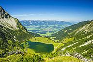Germany, Bavaria, Allgaeu, Allgaeu Alps, Unterer Gaisalpsee - WGF000726