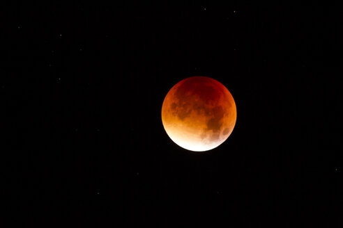 Blood moon at lunar eclipse - ZCF000334