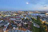 Germany, Hamburg, Cityscape in the evening - RJF000504