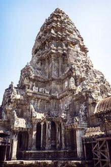 Cambodia, Siem Reap, temple at Angkor Wat - EHF000246