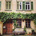 Germany, Tuebingen, house in the old town - LV003947