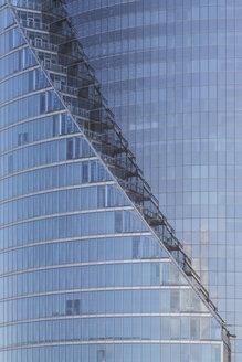Latvia, Riga, Facade of modern high rise building - MELF000089