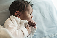 Sleeping newborn baby boy - JASF000138