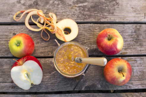 Apples and homemade apple jam - SARF002173