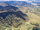 Namibia, Khomas, aerial view of canyon in highland - AMF004340