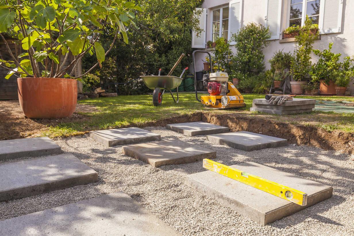 Foundation For A Garden Shed Wdf003336 Werner Dieterich Westend61