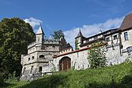 Germany, Baden-Wuerttemberg, Reutlingen, Lichtenstein Castle - EL001639
