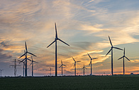 Wind farm at sunset - PVCF000708