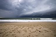 France, Lacanau Ocean, thunderclouds - MYF001169