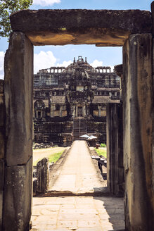 Cambodia, Siem Reap, Angkor Thom Temple - EHF000272